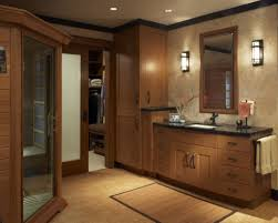 Bathroom Wooden Vanity With Cabinet And Drawers Black Marble Rustic Decor Ideas