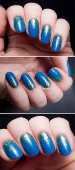100 Cool Blue Design Nail Art Glitter S The Goddess Earthly Gradient Cute