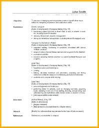 Sample Child Care Resume U2013 Fathunter
