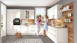 großzügige landhaus einbauküche chalet nobilia in matt weiß