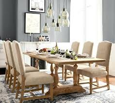Pottery Barn Oval Dining Table Intended For Extending Decorations 4