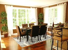 Rug Under Dining Room Table Fresh Homely Ideas Area