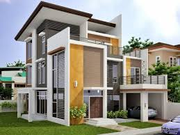 Modern House Fronts by Best House Exterior Designs Home Design