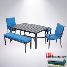 Amazon.com : Mainstays - Rockview 5-Piece Patio Dining Set ... Contemporary Frosted Glass Top Microfiber Seats Leather Modern Ding Set Roompages1164249 Simpbookletcom Fanica Baby Chair Hot Item Bedroom Bed Front Stool Bench Supplier Hd980 Pin On Room Table Textile Color Sofa Transparent Club Fniture Restaurant Benches Tufted Blue Booth Hd673 Royard 4 Chairs Amazoncom Misc 4pc Beige Brown Nook Cushions Dream Decor Springfield Ma Sania Iii Rustic Acme Baldwin Walnut Of