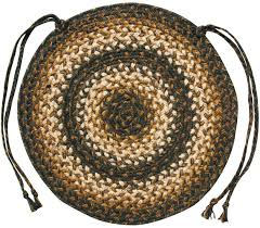 Homespice Decor Jute Rugs by Braided Jute Chair Pads By Homespice Decor Set Of 4 15 Inch