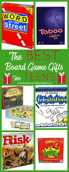Looking For Some Great Gift Ideas Teens These Board Games Were Suggested