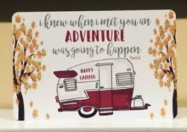 Image Is Loading Happy Camper Metal Sign Camping Decor Quote