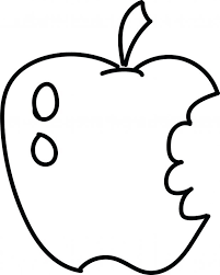Eating Apple Coloring Page Picture Pages Apples Free Applejack
