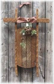 Pallet Decorative Sleigh By FarmHouseRustics On Etsy Primitive Wood CraftsCountry