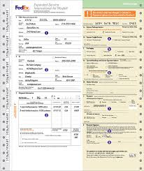 How to plete Shipping Labels and Shipping Documents FedEx