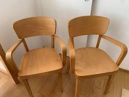 2x stuhl buche möbelum esszimmer