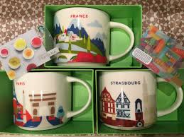 Rose Gold Starbucks Wallpaper New City Mug Strasbourg Paris France You Are Here