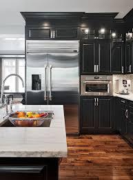 Impressive Best 25 Black Kitchen Cabinets Ideas Pinterest With