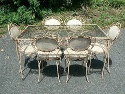 Ebay Patio Furniture Sectional by How To Restore Iron Patio Furniture Ebay