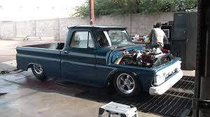 Twin Turbo 64 Chevy Truck - YouTube