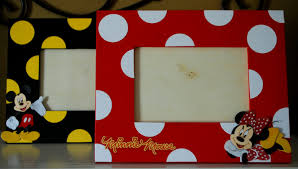 Mickey And Minnie Bathroom Accessories by Mickey Or Minnie Mouse Photo Frame Coordinates With Party