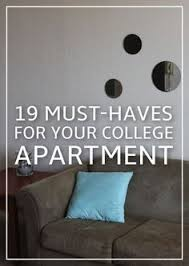 24 Essentials For Your College Apartment