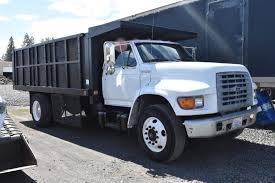1999 FORD F800 Flatbed 18 Yard Dump Truck - $19,500.00 | PicClick
