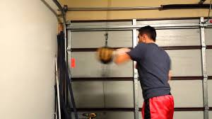 Punching Bag Ceiling Mount by Trying Out The Rdx Floor To Ceiling Ball Youtube