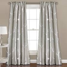 Lush Decor Window Curtains by Lush Decor Bird On The Tree Room Darkening Window Curtain Panel