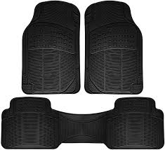 100 Heavy Duty Truck Floor Mats Details About Car For All Weather Rubber 3pc Set Semi Custom Fit Black