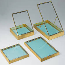 Portable Showcases Counter Top Glass Display Cases And Jewelry Trays Perfect For Trade