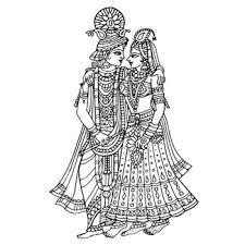 Indian Wedding Symbols Clipart