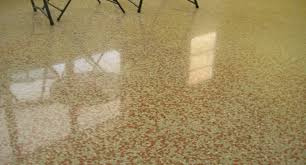 Mostly Found In Commercial Properties Including Hospitals And Retail Shops Terrazzo Flooring Is