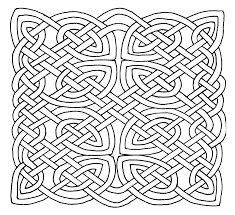 Celtic Design Coloring Pages