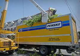 100 Penske Truck Coupon Takes Out Utility Wires On Lancaster Streets With Tree That