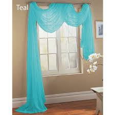 White Sheer Voile Curtains by Windows Aqua Valances For Windows Decorating 1 Teal Turquoise