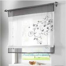 vorhänge feste transparent kurzen küchen vorhänge für