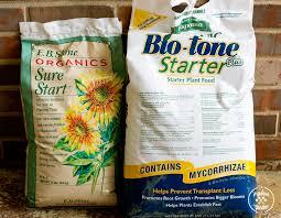 Natural Fertilizer For Pumpkins by Your Plants Organic Starter Fertilizer Comparison