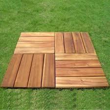 Floor Decking Wood Outdoor Balcony Deck Tile Ikea Hack
