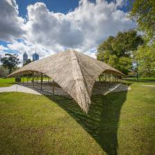 Studio Mumbai Presents MPavilion Built Using Seven ... Victorian Bamboo Folding Screen The Annual Singapore Design Week Is Back With Over 100 Vtg Pair Parzinger Rattan Woven Chair Regency Victorian Design Mirror Antique Bamboo 3 Tier Table In Rh11 Crawley For Folding Campaign Chair Hoarde Az Of Fniture Terminology To Know When Buying At Auction French Colonial Faux Restoration Project C1900 Walnut Deck Circa A Guide Buying Vintage Patio Fniture V Studio Forest On The Roof Divisare