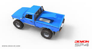 Cross RC Sp4b 1/10 Demon 4X4 Crawler Kit-Full Hard Body Steel Rims ... Traxxas Disruptor Body Tmsportmaxx Tra4912 Rc Planet Truck Of The Week 9222012 Stampede Truck Stop Product Spotlight Maniacs Indestructible Xmaxx Big Toyota Tacoma 110 Axial Scx10 Scale Rock Crawler Tamiya Patrol Ptoshoot Tiny Fat Slash 44 With 1966 Ford F100 Car 48167 327mm Short Course Shell Frame For Custom Chassis Beautiful Rustler Wing 2wd Hobby Pro Buy Now Pay Later Fancing 4x4 Vxl Stadium Pink Edition 8s Lipo Gen 2 Xmaxx Mts Test Drive W Custom Bodies Nitro Rc Trucks Parts Best Resource