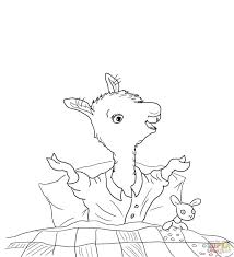 Red Coloring Pages Printable Home Pics Of Llama Pajama Page Blank Crayon Free