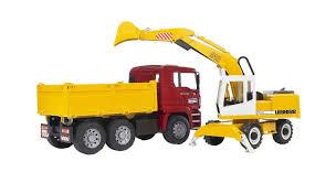 100 Bruder Mack Granite Liebherr Crane Truck Amazoncom Toys MAN TGA Construction And