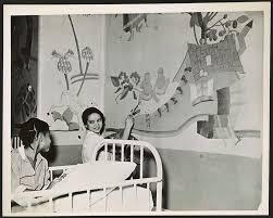 harlem hospital wpa murals flickr