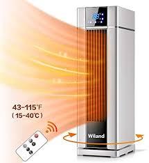 heizgeräte lcd elektroheizung mit fernbedienung timer 2000 w klimaanlage elektrische heizung lüfter 3 modi temperatur automatische konstanttemperatur