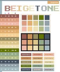 Beige Tone Color Scheme