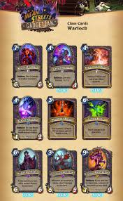 Warlock Murloc Deck Tgt by Visual Guide Of All The Cards From Mean Streets Of Gadgetzan