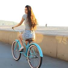 Sixthreezero Teal Single Speed Womens Beach Cruiser Bike