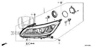 honda store 2014 accord headlight parts