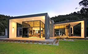 100 Define Glass House 3 Cubed Volumes Sheltered Under Roof Define