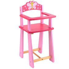 You & Me Wooden Doll Highchair - Toys R Us - Toys