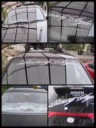 100 Cool Decals For Trucks Sticker Shop MeesFactory Luxurystyle Cursive Sticker Car Sticker