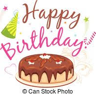 Happy birthday Chocolate birthday cake