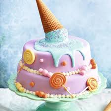 fondanttorte cake