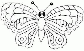 Butterfly Coloring Pages Free Printable Angeldesign Regarding Page To Inspire Color